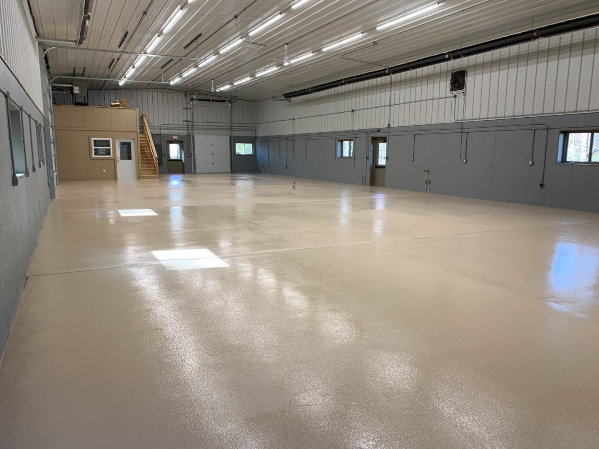 Current flooring coating